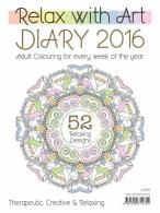 RELAX WITH ART DIARY magazine