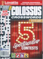 Lovatt's Colossus Crosswords magazine