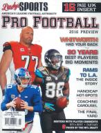 Lindy's Sports - Pro Football Preview magazine