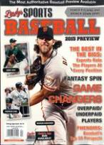Lindy's Pro baseball 2015 Preview magazine
