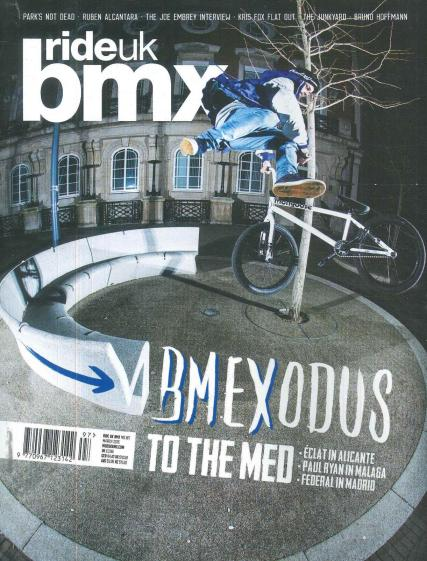 Ride UK BMX magazine