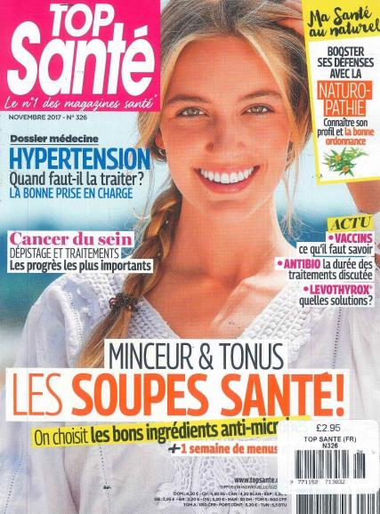 Top Sante French magazine