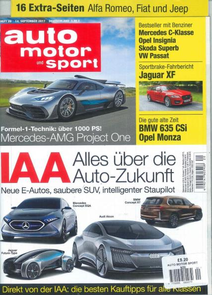 auto motor und sport magazine subscription. Black Bedroom Furniture Sets. Home Design Ideas