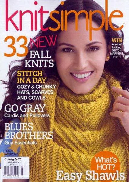 Knitting Magazine Cover : Knit simple magazine subscription