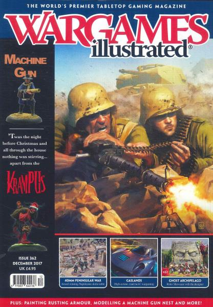 War Games Illustrated magazine