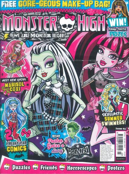 Monster High magazine