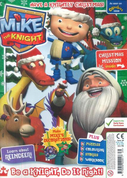 Mike The Knight magazine
